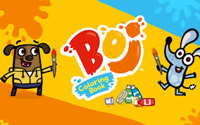 Select the desired color and color the desired area. Boj Coloring Book Game