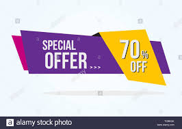 Graphic Design 70 70 Discount Tag With Special Offer Ribbon Sale Label With