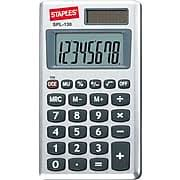 staples® spl cc digit display calculator staples staples® spl 130 cc 8 digit display calculator