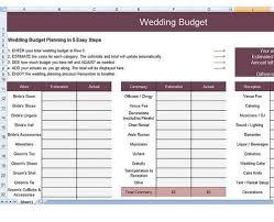 Wedding Budget Spreadsheet Best Templates In 2020 Wedding