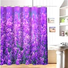 s bathrooms pink and purple ruffle shower curtain
