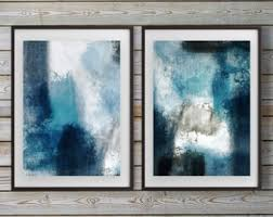 absolutely smart wall art set of 2 new trends blue abstract prints two beach modern piece canvas framed on framed blue wall art set with absolutely smart wall art set of 2 new trends blue abstract prints