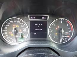 Autorijschool Ritsen Controle Lampjes Mercedes Benz A Klasse