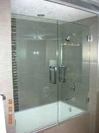 bathroom glass door heavy double tub enclosure hinge repair