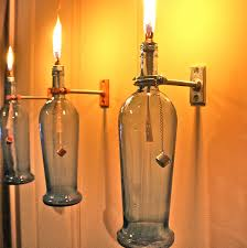Making Wine Bottle Lights How To Make A Wine Bottle Lamp Wine Folly Wine Bottle Oil Lamp