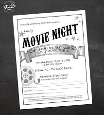 Free Movie Night Flyer Templates Business Cards Design Templates Free Download 8degreetheme Com