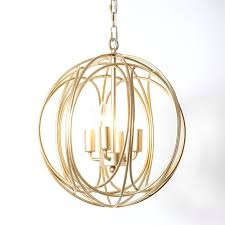 gold orb chandelier luxurious modern chic gold sphere 3 lights 4 lights iron orb chain suspended