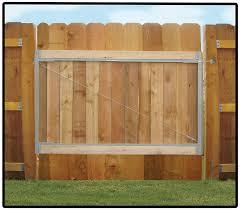 wood fence gate. Adjust-A-Gate Steel Frame Gate Building Kit (36\ Wood Fence