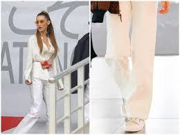 白パンツで細見えするテクニックを人気モデルで拝見 2019年6月6日