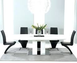 black gloss round dining table white high gloss dining table and chairs mark white high gloss