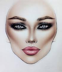 Face Charts For Sale On Sale Bestmacmakeup In 2019 Makeup Face Charts Mac