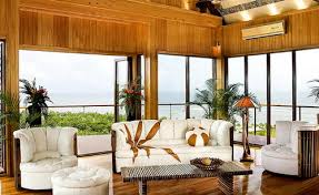 tropical living rooms: african inspired living room ideas open