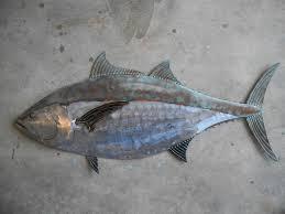 38 best metal fish art images on pinterest tin fish wall art on fish metal wall art hanging with tin fish wall art spanish mackerel ceramic fish decorative art wall