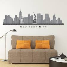 new york city skyline wall decals home decor laux scheme of new york skyline wall sticker of new york skyline wall sticker luxury new york skyline wall