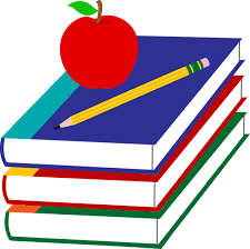 book and pencil clipart collection