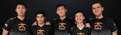 team fnatic has a new player line up
