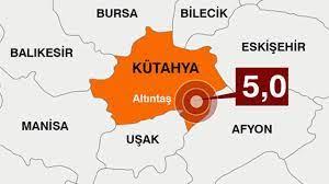 Son dakika.. Kütahya'da 5 büyüklüğünde deprem - Son Dakika Haberleri  İnternet
