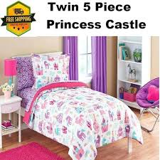 mainstay bedding set twin girls princess bedding set for kids bedroom includes comforter mainstays coordinated bedding