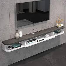 tier modern wall mounted tv shelf tv