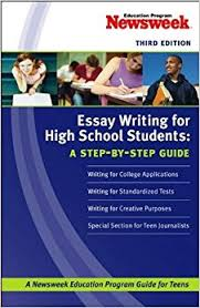 com essay writing for high school students a step by step essay writing for high school students a step by step guide