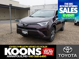 2018 Toyota RAV4 LE For Sale | Annapolis MD