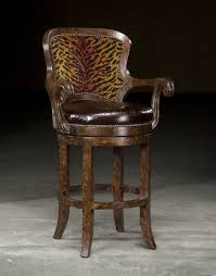 Brilliant High End Bar Stools End Furniture Tiger Bar Stool