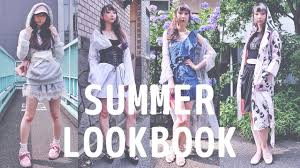 夏コーデ夏にスタイリングで楽しめよう Summer Lookbook Ootd