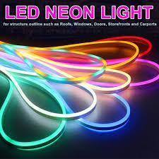 Flexible Neon Led Rope Lights Us 2 61 40 Off Led Neon Strip 120led M 2835 Flexible Neon Ip65 Waterproof Rope Light Decorative Strip 1m 2m 3m 4m 5m 10m 15m 20m Ac 220v In Led