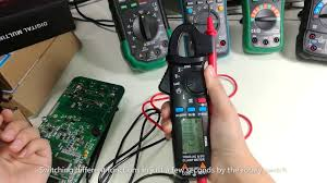 BSIDE <b>ACM91 Digital Clamp Meter</b> 1mA AC/DC Current True RMS ...