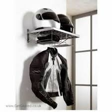 Motorcycle Coat Rack I'd love to hang this Biker Duo Clothes Rack in my garage No more 1