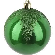 <b>Набор</b> рождественских <b>шаров</b> Monte <b>Christmas</b> 8 см 4 шт пластик ...
