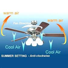 ceiling fan rotation for winter winter setting for ceiling fan what direction should ceiling fans turn