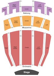 Ovens Auditorium Seating Chart Charlotte
