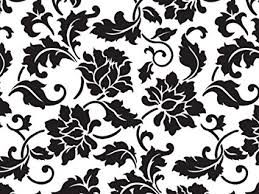 Floral Brocade Amazon Com Cello Bags Black Floral Brocade Large Pack Of