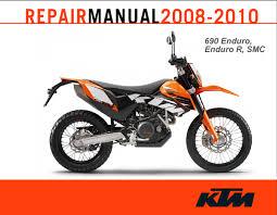official ktm 690 enduro enduro r and smc service manual cyclepedia