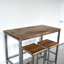 Reclaimed Wood Farmhouse Kitchen Table Rustic Counter Heightining