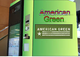 American Green Vending Machine New Smart Vending Machines Using Vein Verification Bio Metrics For