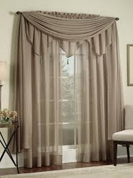 brown living room curtains. Reverie Semi Sheer Curtains Gray 60 Wx 63 L Rod Pocket Curtain Brown Curtain. Modern Living Room Window Treatments E