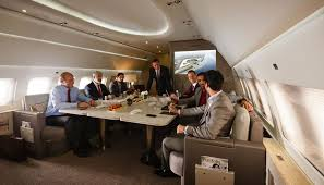 Image result for PRIVATE CORPORATE PLANE WITH PASSENGERS