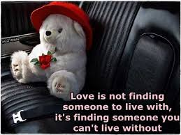 Amazing Love Quotes Beauteous Love Quotes Love Is Not Finding Someone To Live With It's Finding