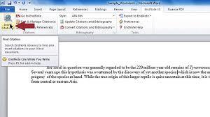 Cwyw Adding Citations To A Word Document