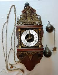 vintage franz hermle wall clock nu