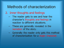 Methods Of Characterization Characterization Ppt Video Online Download