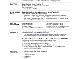 Recent College Graduate Resume College Grad Resume Examples Shocking Student No Work Experience 84
