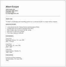 Pilot Resume Template Cool Pilot Resume Pilot Resume Template 40 Free Word Pdf Document