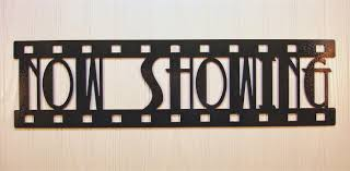 now showing new metal wall art home theater decor contemporary sign 1 of 1only 4 available see more