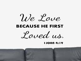 Bible Love Quotes Awesome I John 4848 Wall Decal Bible Verse Wall Decal Christian Etsy