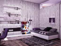 monochromatic color wheel purple living room