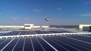 Ikea In Mass Ikea Plugs In Expanded Solar Panel Array At Boston Area Store In