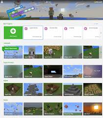 Micro Soft Home Page Microsoft Makecode For Minecraft On Windows 10 Microsoft Makecode